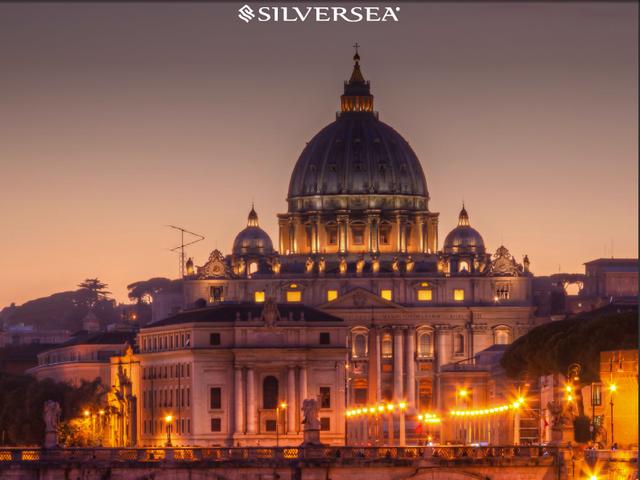 Free Air Plus 10% off Your Silversea Luxury Mediterranean Cruise