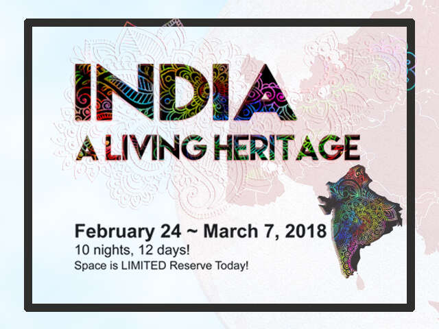 INDIA - A Living Heritage!