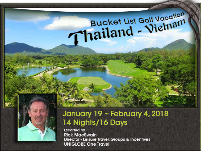Bucket List Golf in Thailand & Vietnam