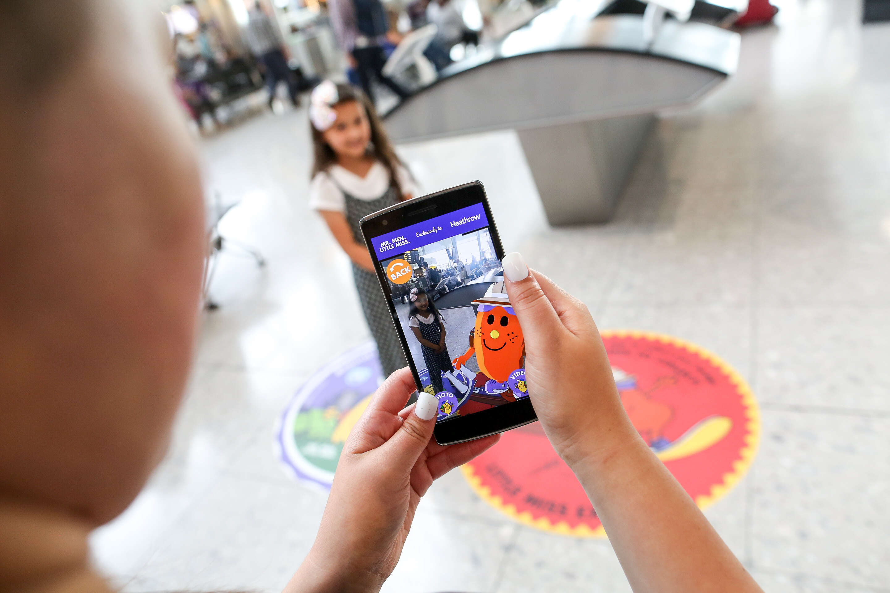 App-Happy Kids at Heathrow with New Travel-Themed Mr. Men Characters