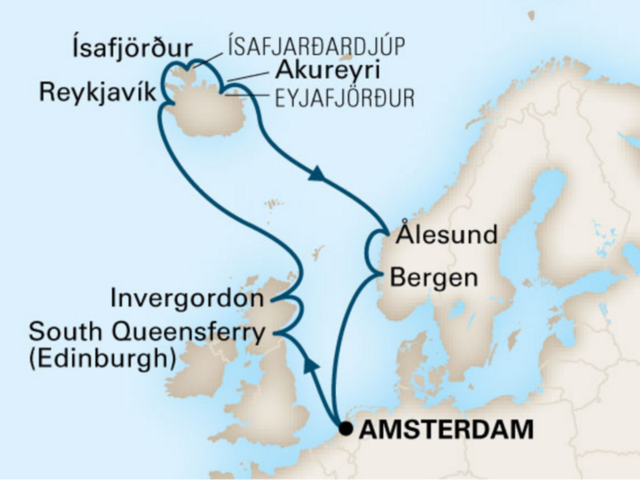 14-Night Northern Isles CME Cruise August 5-19, 2018