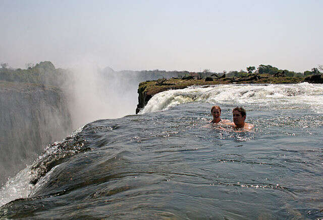 You Can Do This At the Edge of the World's Largest Falls