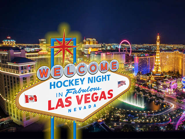 Hockey Night in Las Vegas!