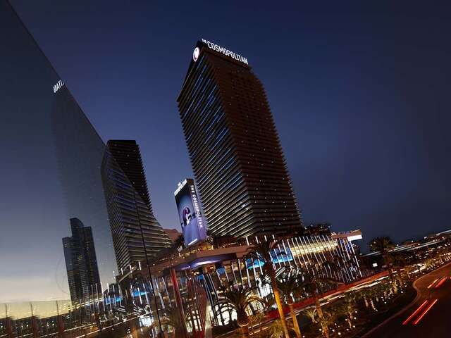 One free night with a min 4 night stay at The Cosmopolitan of Las Vegas.