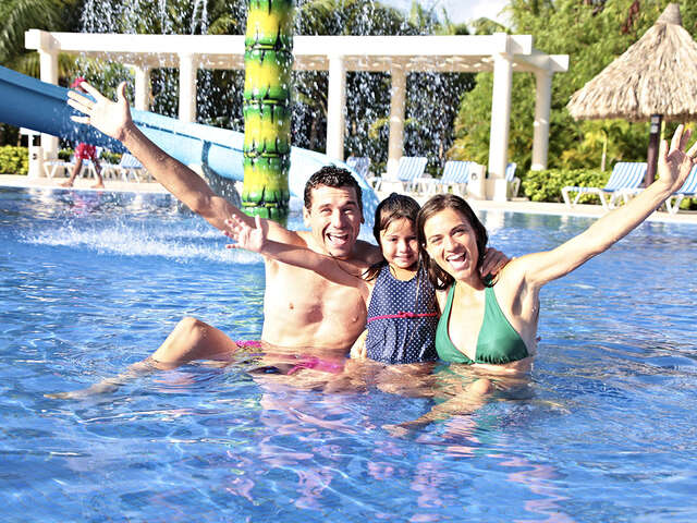 Kids stay free at select Resorts in Mexico and the Caribbean