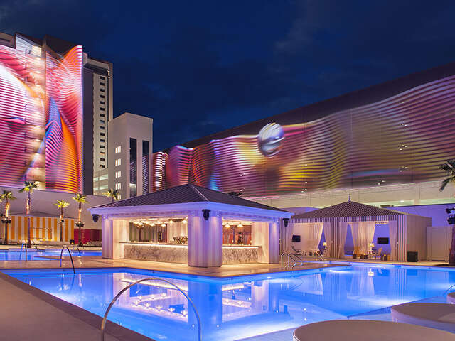 Receive $100 resort credit with a minimum 3-night stay at SLS Las Vegas.