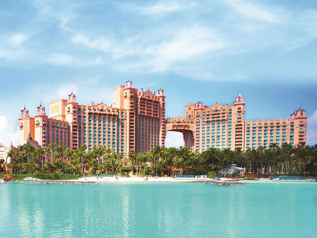 Receive up to $250 credit at select Atlantis resorts in Paradise Island