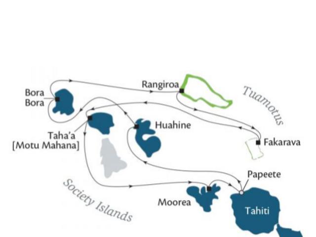 10-Night Society Islands & Tuamotus CME Cruise March 20—30, 2019