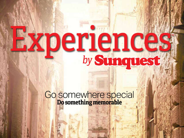 Save $200 on Experiences by Sunquest