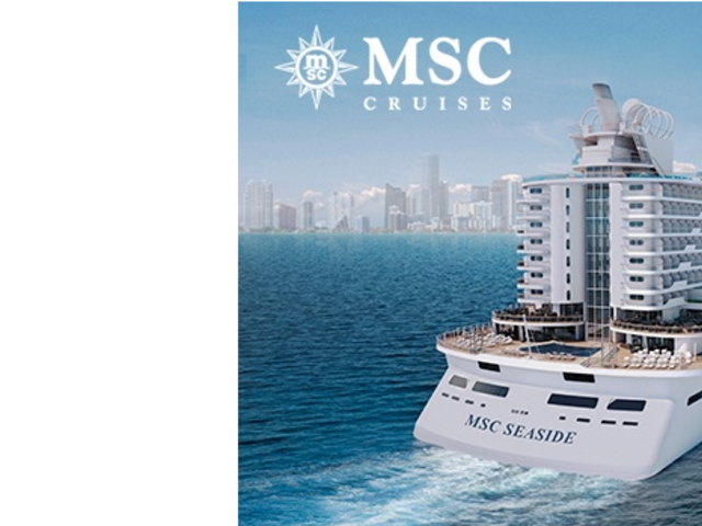 Save 50% with MSC Cruises 2 For 1!