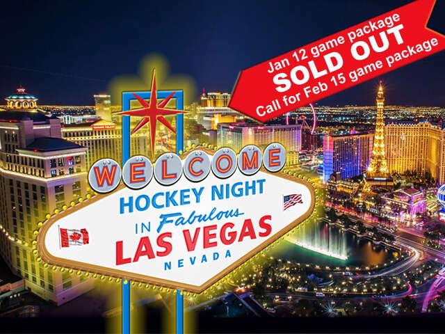 Hockey Night in Las Vegas!