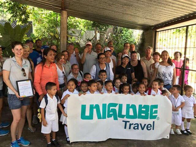Uniglobe Travel Gives Back