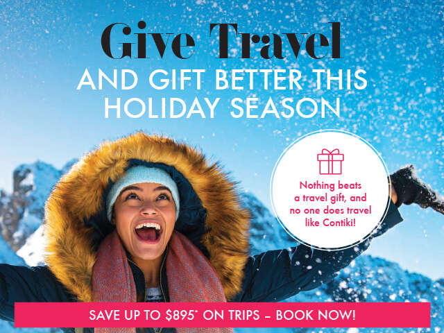 Give the Gift of Contiki Travel