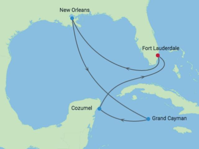 10-Night Mardi Gras & Caribbean CME Cruise March 1—11, 2019