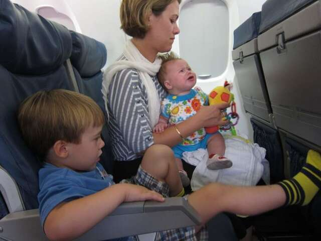 12 Tips for Flying with Small Children