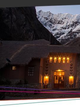 Destination Lodges: Salkantay Lodge NEW 3-DAY Program US $499