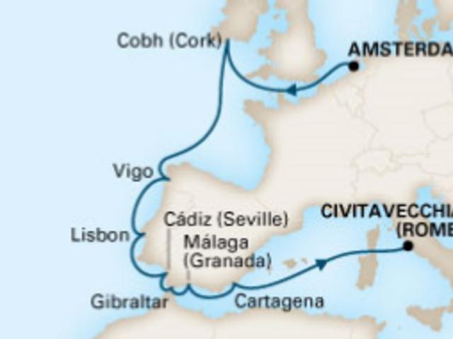 12-Night Iberian Adventure CME Cruise September 15 - 27, 2019