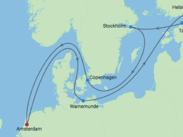 12-Night Scandinavia & Russia CME Cruise July 20-August 1, 2019