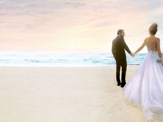 Earn $500 credit when booking ACV destination wedding
