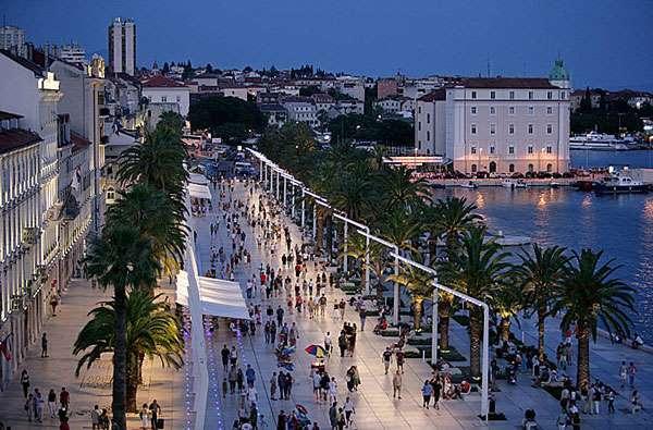 Arrive in Split