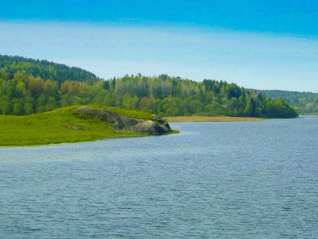 Svir River - Mandrogy