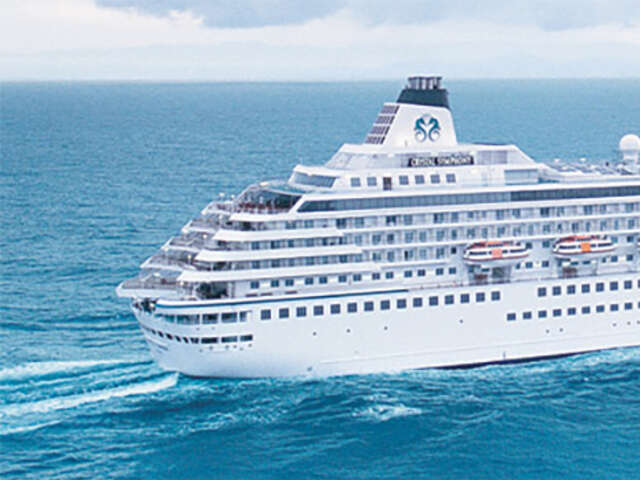 Up to $1,200 per stateroom or suite with Crystal Cruises
