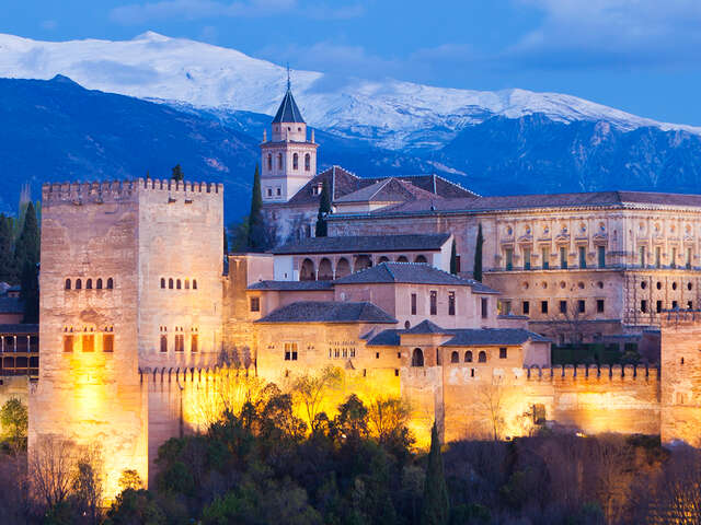Visiting the Alhambra Palace