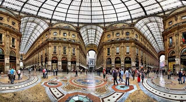 Arrive in Milan
