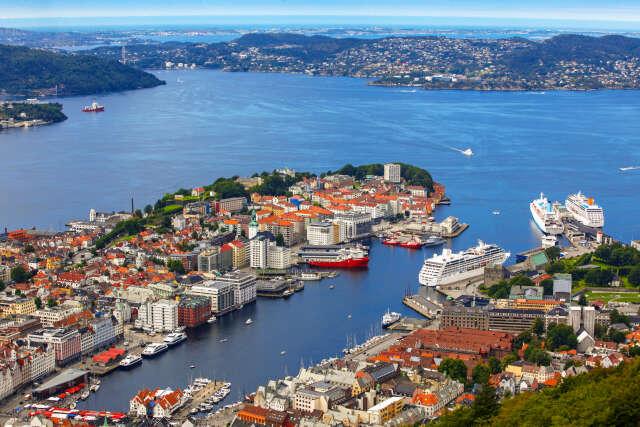 Arrive in Bergen