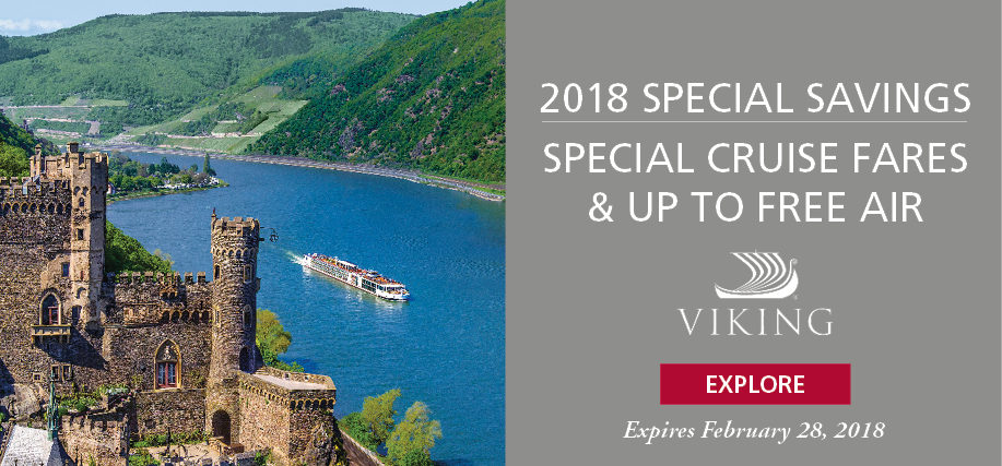 Preferred Supplier Ad Feb 2018 Viking River Cruise