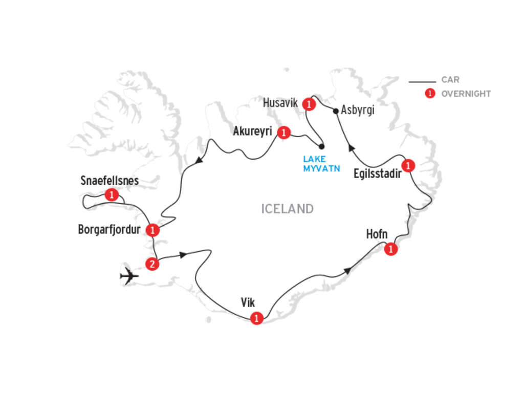 Classic Iceland - welcome to Reykjavik! | UNIGLOBE LGI Travel ...