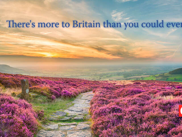 Discover new ways to love Great Britain