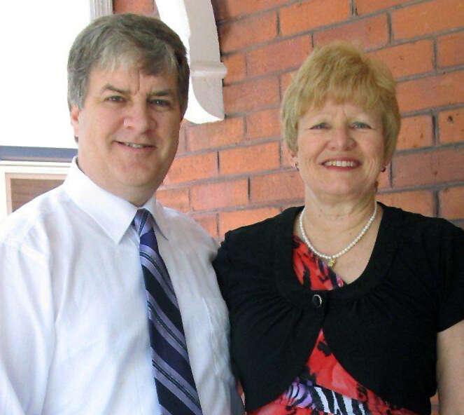 Rev Terry Hastings & Lorraine Stevenson
