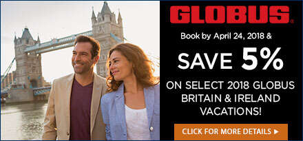 SAVE 5% on Globus Ireland