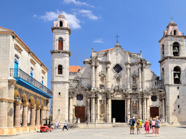 The Four Plazas of Old Havana