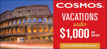 Vacations for under $1000 Cosmos