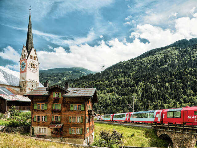Rail Europe - Receive a free lunch on the Glacier Express!