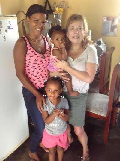 Dominica Republic Family.