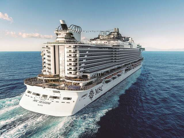 Follow the Sun with MSC Seaside