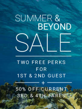 2 FREE PERKS plus SAVINGS on Celebrity Cruises