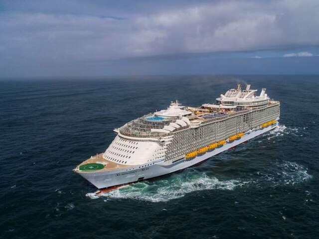 The world's largest cruise ship