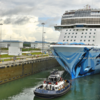 The Largest Cruise Ship Ever to Transit the Panama Canal