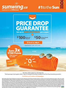 Price Drop Guarantee on winter departures & more!