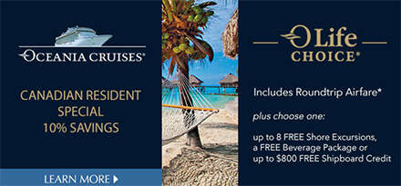 Oceania Cruises June 2018