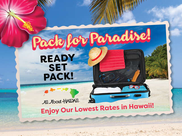 All About Hawaii - Lowest Rates in Hawaii from $155 per night!