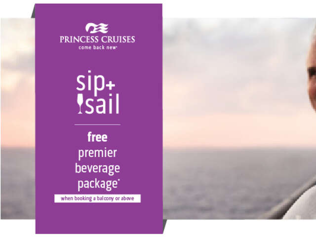 Sip N Sail with Princess Cruises