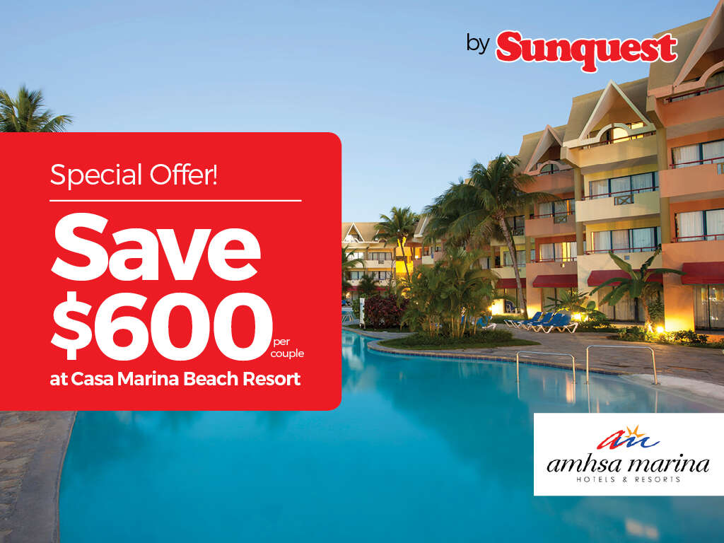 Sunquest - Save $600 per couple!