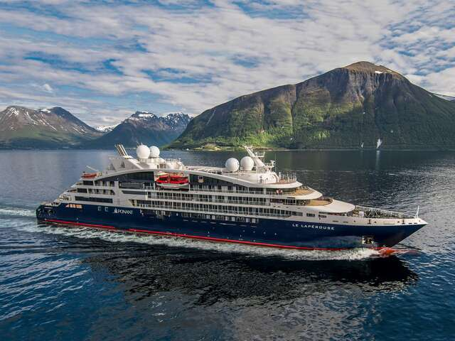 $1,000 Shipboard Credit on Ponant's Quintessential Collection Departures