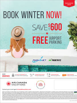 Air Canada Vacations: 2018/2019 Winter EBB
