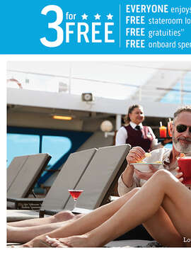 3 For Free: Enjoy More from Princess Cruises with the Best Deal at Sea